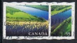 Canada SG2000 2000 Rivers And Lakes 95c Good/fine Used [13/13436/4D]