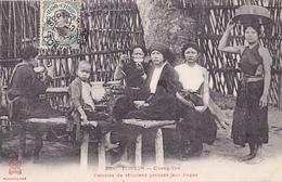 26228 VIET NAM - TONKIN - Quang Yen -femmes Miliciens Prenant Repas  - 333 Dieulefils - Viêt-Nam