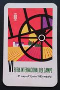 1965 CALENDARIO VI FERIA INTERNACIONAL DEL CAMPO. - Tamaño Pequeño : 1961-70