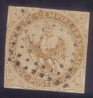 YT3 Aigle 10c  - Nouvelle Caledonie Noumea Losange Points - Águila Imperial
