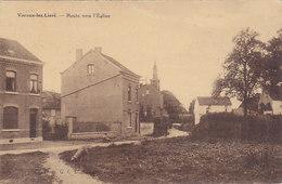 Voroux-lez-Liers - Route Vers L'Eglise (petite Animation, 1931) - Juprelle