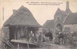 29-PENMARCH- FERME BRETONNE, 'ANCIEN MANOIR ) DIME AGRICOLE DU MOYEN AGE , DE PORTZ-LAMBERT - Penmarch