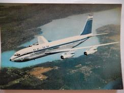 CP  - DANS LE CIEL DE FRANCE - BOEING 707 DE LA COMPAGNIE EL-AL -  No 157  - R854 - 1946-....: Moderne