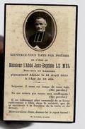 Image Pieuse Holy Card Décès Abbé J-B Le Mel Recteur De Lesconil 16-04-1935 - Ed Bouasse Jeune 775 Lib. Guivarch Quimper - Images Religieuses