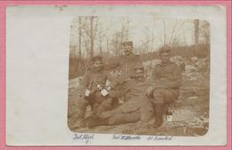 08 - 55 - ARGONNEN - ARGONNE - Carte Photo Militaire - Soldats Allemands - Feldpost 33. Inf. Div. - Guerre 14/18 - Frankreich