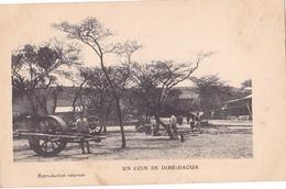 26243 Un Coin De Dire Daoua -sans Ed Attelage - Djibouti
