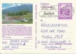 Terrain De Tennis à Seefeld Tirol - Carte Expédié à Seefeld 25.1.05 - Rare - Tennis
