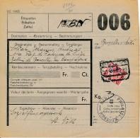 Paquet Postale Mobilisations 1939 - Vers Rég De Forteresse De Liège - Batterie De Bruxelles - Expédié St Vith 20.12.1939 - WW II