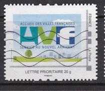 Montimbramoi Collector FRANCE Acceuil Des Villes Francaise AVF Oblitéré