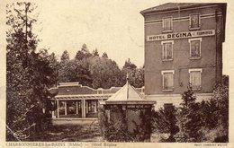 CPA CHARBONNIERES LES BAINS - HOTEL REGINA - Charbonniere Les Bains
