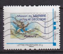 Montimbramoi Collector FRANCE Maison De Marbre Et Géologie 62 Rinxent Pliosaure Oblitéré