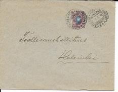 FINLANDE - 1918 - ENVELOPPE De BJÖRNEBORG => HELSINKI - Covers & Documents