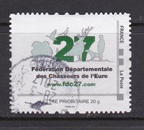 Montimbramoi Collector FRANCE Fédération Départementale Des Chasseurs De L'Eure FDC27 Oblitéré