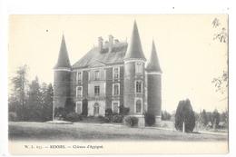 RENNES  (cpa 35)  Le Château  D'Apigné  -    - L 1 - Rennes