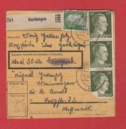 Colis Postal  --  Départ Gardelegen --  Pour St Avold -- - Allemagne