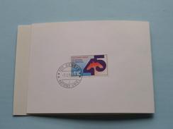 7.12.90 Genève - Nations Unies 45e Anniversaire / Greetings Wünschen 1991 ( Zie Foto ) ! - Cartoline Maximum