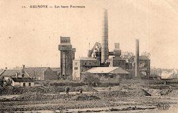 V8961 Cpa 59 Aulnoye - Les Hauts Fourneaux - Aulnoye