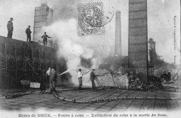 V8962 Cpa 62 Mines De Noeux - Fours à Coke, Extinction Du Coke à La Sortie Du Four - Noeux Les Mines