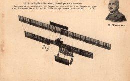 V8991 Cpa Aviation -   Biplan Bristol Piloté Par Tabuteau - Aviateurs