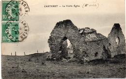 - CARTERET -1925- La Vieille Eglise - Carteret