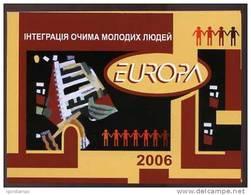 UKRAINE 2006 ** MNH BOOKLET 787-788 EUROPA 2006 INTEGRATION - Ukraine