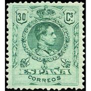 ES275STV-LFT**275STAN.España.Spain. Espagne.Rey ALFONSO Xlll.MEDALLON .1909(Ed 275* )con  Charnela - Ungebraucht