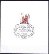 Germany Cover, Sp. Cancellation Athanasius Kircher Writer Medicine Books - Medizin