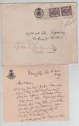 TP 714(2) S/L.de La Chambre Des Représentants C.Bruxelles Midi En 1949 Avec Contenu V.E/V PR4551 - Unclassified