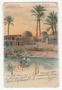° Le Caire Kafr Près Les Pyramides De Sakkarah - Voyagé En 1905 - 2 Scans - El Cairo