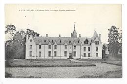 RENNES  (cpa 35)   Château De  Prévalaye - Façade Postèrieure -    - L 1 - Rennes