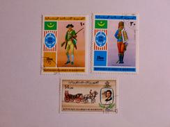 MAURITANIE 1976-81    LOT# 3  INFANTRYMAN - Mauritanie (1960-...)
