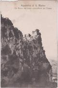 Lb 16 : SAINT  MARIN : Republica Di Saint Marino : La  Rocca  Dai  Bassi  Contrafforti Del Titano - Saint-Marin
