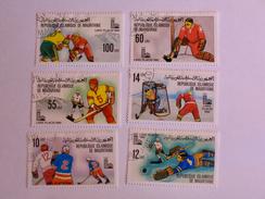 MAURITANIE 1979    LOT# 4 OLYMPIC, ICE HOCKEY - Mauritanie (1960-...)