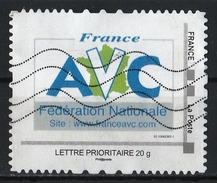 France : Timbre Personnalisé : AVC Fédération Nationale