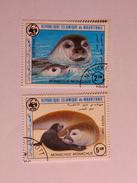 MAURITANIE 1986    LOT# 9   MONK SEAL  WWF - Mauritanie (1960-...)
