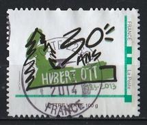 France : Timbre Personnalisé : 30 Ans Hubert Ott