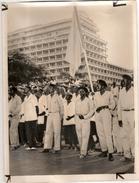 Photo Presse Afrique Française Photographie 24 Aout 1960 Les Membres De L'UPS Sénégal - Lieux