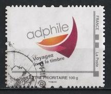 France : Timbre Personnalisé : Adphile - Voyagez Avec Le Timbre