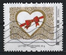 France : Timbre Personnalisé : Cadeau Du Coeur