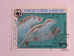 MAURITANIE 1986    LOT# 10   MONK SEAL  WWF - Mauritanie (1960-...)