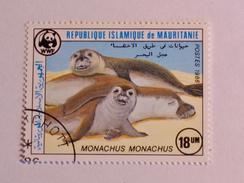 MAURITANIE 1986    LOT# 11   MONK SEAL  WWF - Mauritanie (1960-...)