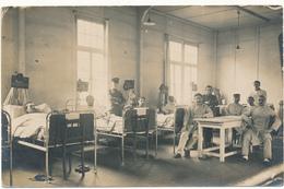 Carte Photo  Militaire - Soldat Français Blessé à L'Hôpital De Cologne, Cöln - 2 Scans - Guerre 1914-18
