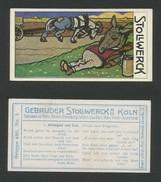 Chocolat STOLLWERCK -  N° 480-1 - Album 12 - Stollwerck