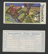 Chocolat STOLLWERCK -  N° 480-6 - Album 12 - Stollwerck