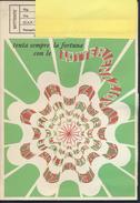 °°° CARTOLINA LOTTERIA 1980 - AFFRANCATURA CON MARCA DA BOLLO °°° - Biglietti Della Lotteria