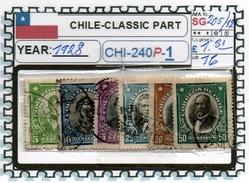 CHILE:CLASSIC# SERIE(S) (CHI 240P-1 (16) - Chile
