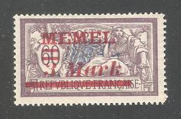 Memel 1922,3 Mark,# 76,VF MVLH*OG (A-6) - Unused Stamps
