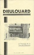 Dieulouard Le Passage De La Tour De La Monnaie Janvier 1944 G.Clanché. Curé - Journaux - Quotidiens