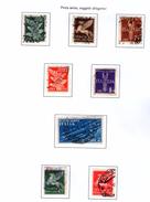 ITALIA REGNO 1930  P.A. SOGGETTI ALLEGORICI Usati / Used - 1900-44 Vittorio Emanuele III