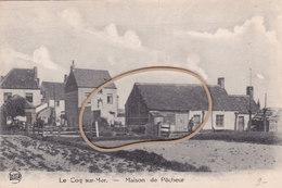 Coq Sur Mer, De Haan, Maison De Pêcheur,  Perfecte Staat,  2 Scans - De Haan